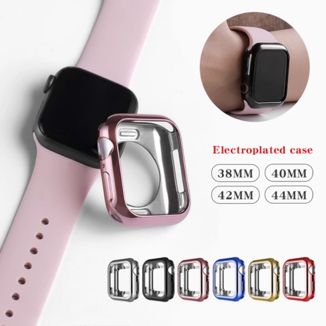 Apple Watch Case Series 4-6Ultra-thin Soft Plated Tpu