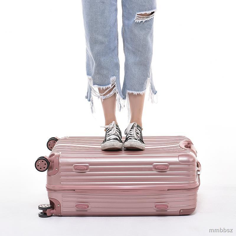 Ins กระเป๋าเดินทางมีล้อลากขนาด 28 นิ้ว 24 นิ้ว