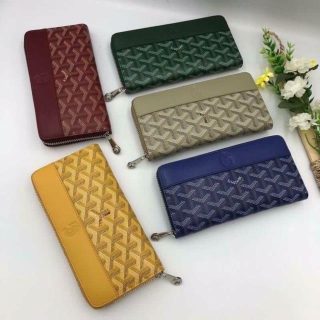 Goyard Zip Wallet