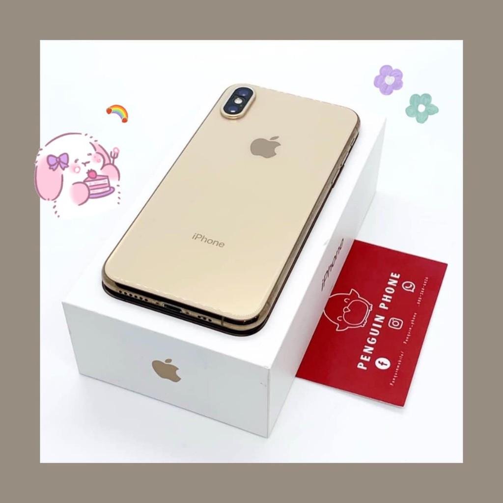 iPhone Xs 64GB สี Gold มือสอง สภาพ 95% [ไอโฟนมือสอง iPhoneมือสอง ไอโฟนมือ2 ไอโฟนราคาถูก โทรศัพท์มือสอง มือสอง]