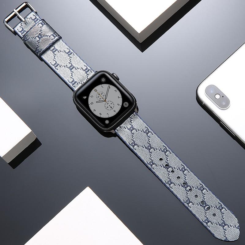 สายนาฬิกาข้อมือผ้าใบสําหรับ Applewatch Se Iwatch5 / 4 / 3 / 2 Strap