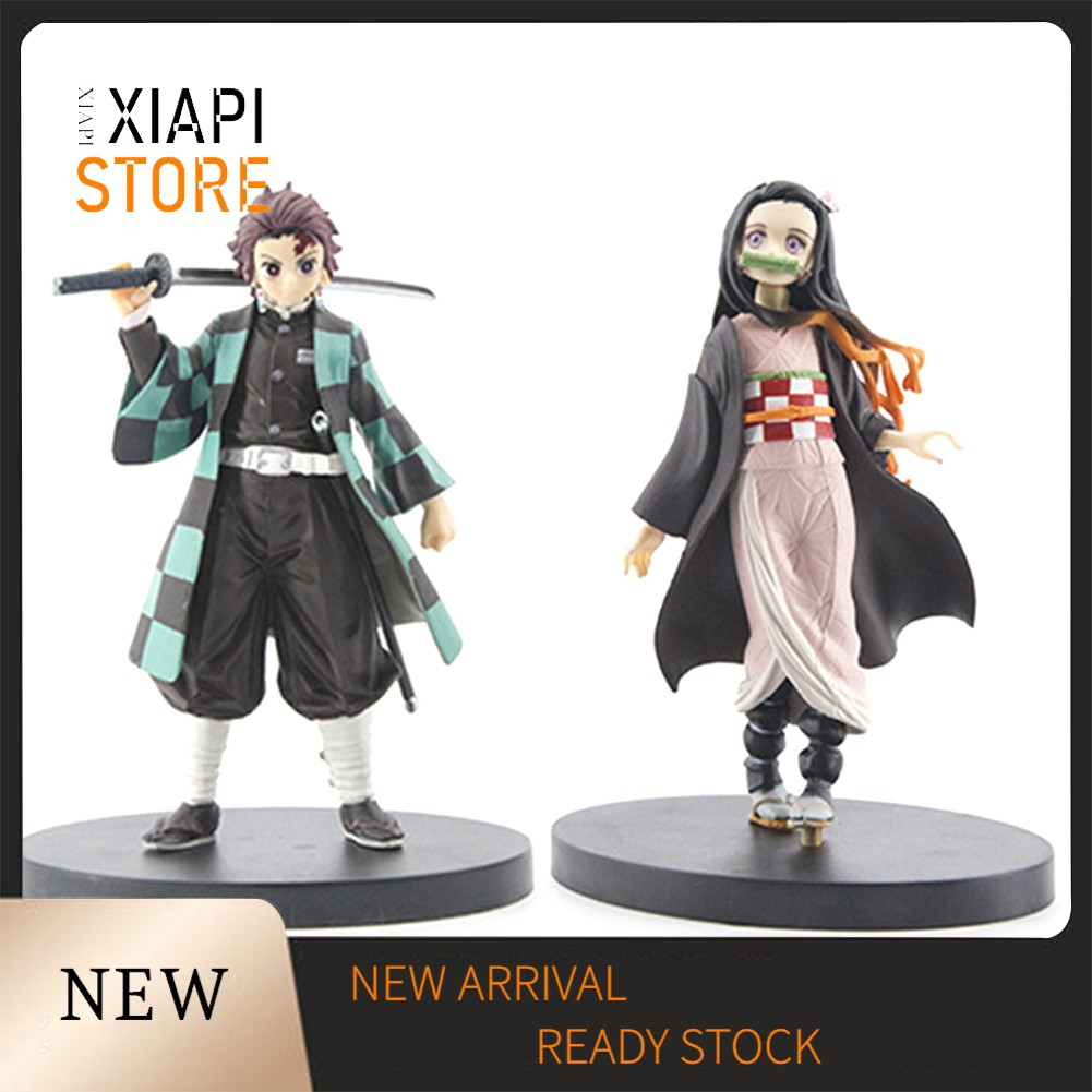 XP_Demon Slayer Kamado Nezuko Action Figure Table Decor Handmade Model Kids Toy 719f