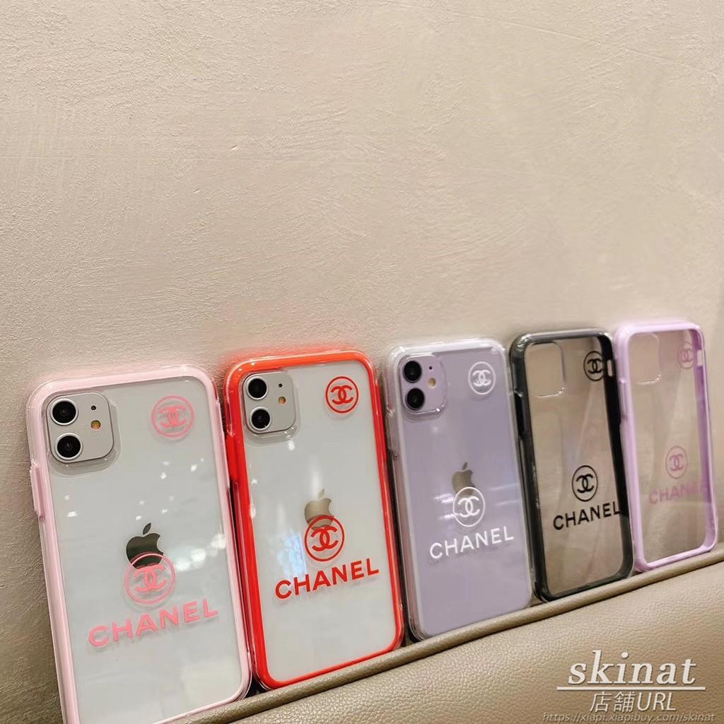 เคสโทรศัพท์มือถือแบบนุ่มขอบสองสีสําหรับ Iphone 11 Pro Xs Max Xr I 8 I 7 Plus