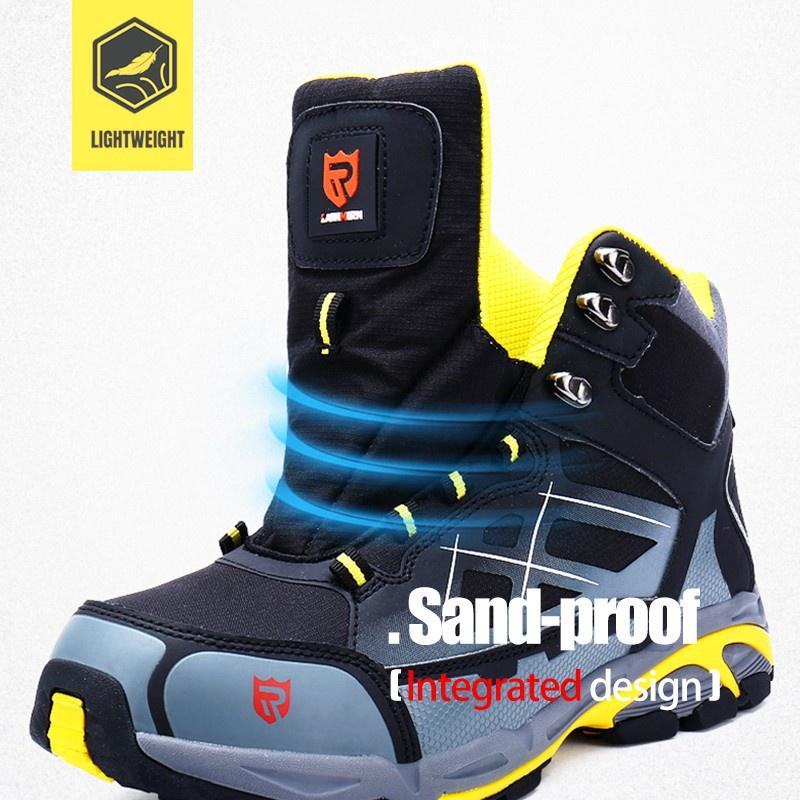รองเท้าเซฟตี้ Safety Shoes รองเท้านิรภัย หัวเหล็ก LARNMERN LM170201