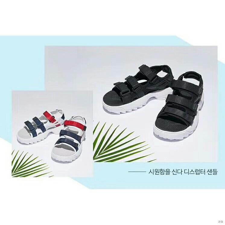 ♗❣รองเท้า FILA รองเท้ากีฬารองเท้าวิ่งชายหาดรองเท้าวิ่ง FS1HTZ3081X