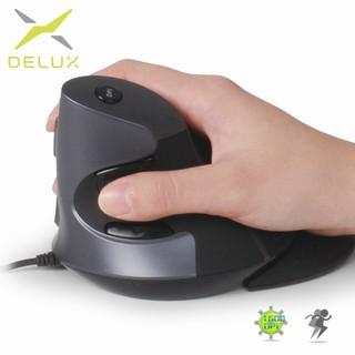 Delux M618se เมาส์แนวตั้งไร้สาย Wireless 2.4G Mouse Ergonomic ...