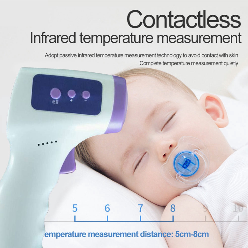 Kid Baby Ear//Forehead Infrared Thermometer LCD Digital Temperature Multifunction