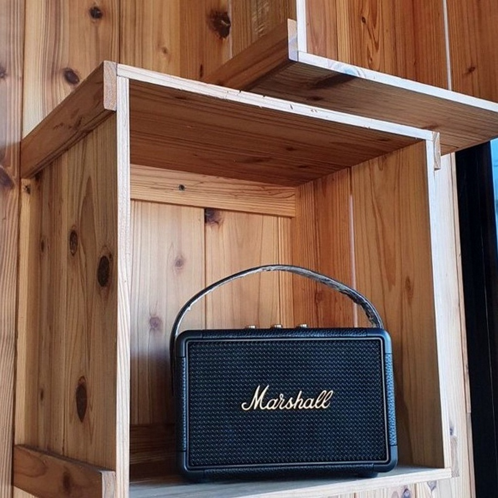 (รับประกัน 12 เดือน) Marshall Kilburn II Bluetooth Speaker-Marshall-Black เดิมแท้ As1l
