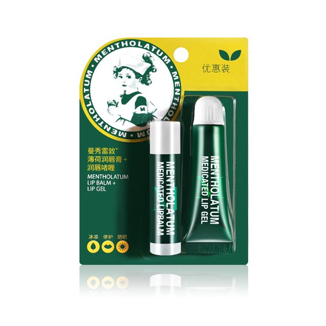 3 5g Gel Balm Therapy Mentholatum Lip