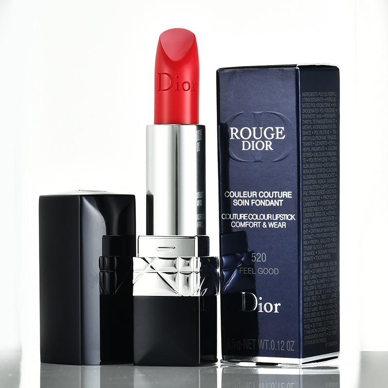 ลิปสติก Dior Lip Glow Rouge Dior Matte Lipstick Couture Colour Comfort and Wear Lipstick, 999 ลิปสติกดิออร์ ลิปdior