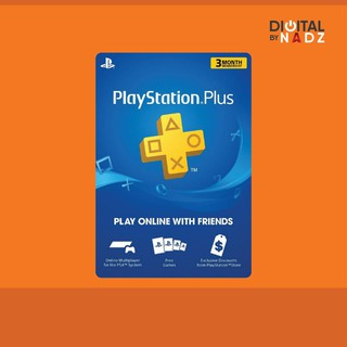 PlayStation : Code PS Plus Membership Voucher (3 Month) (TH)