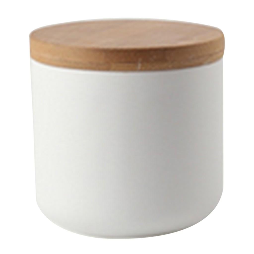 Sealed Ceramic Storage Jar Simple Style