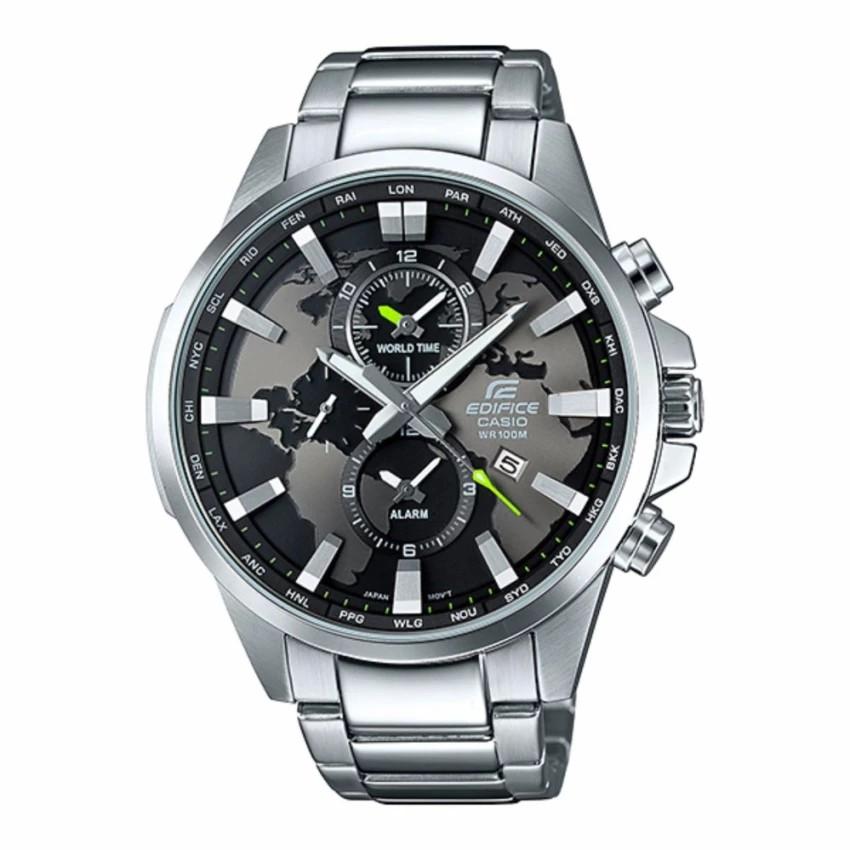 Casio Edifice นาฬิกาข้อมือผู้ชาย สีเงิน สายสแตนเลส รุ่น EFR-303D-1A