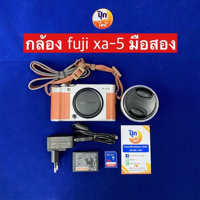 กล้อง Fuji XA-5 มือสอง
