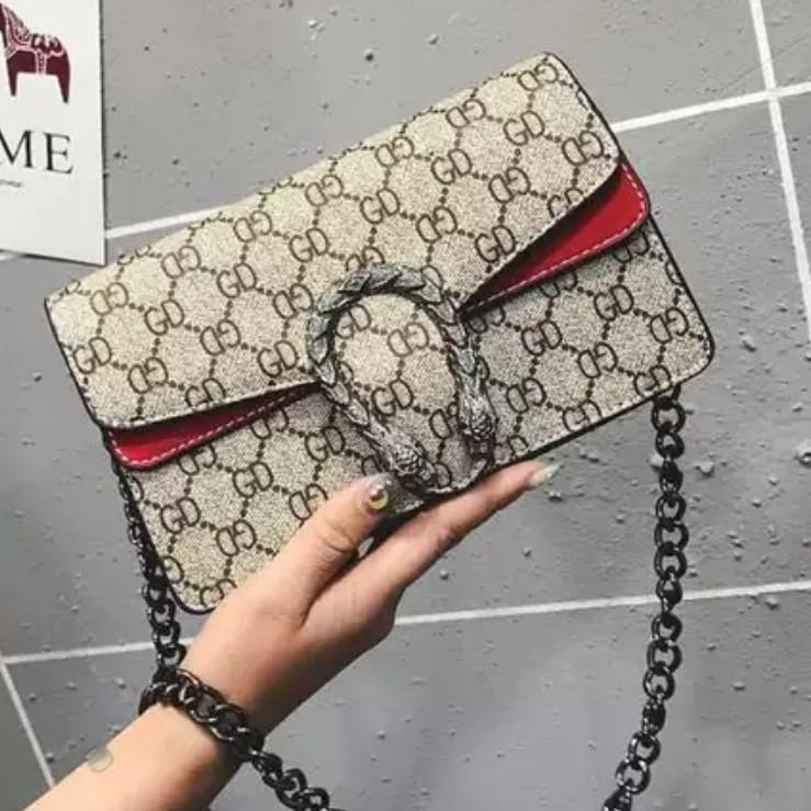 Kedaibutic Gucci Dionysus กระเป๋าสะพายไหล่ขนาดเล็กสําหรับผู้หญิง - Kb046k