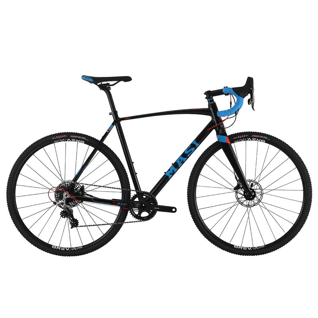 White Masi Brev.M Track Bike Grips Black