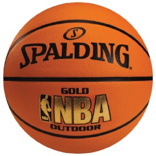 SPALDING บาสเก็ตบอล SPALDING Basketball RB NBA Gold Outdoor#7(51549)