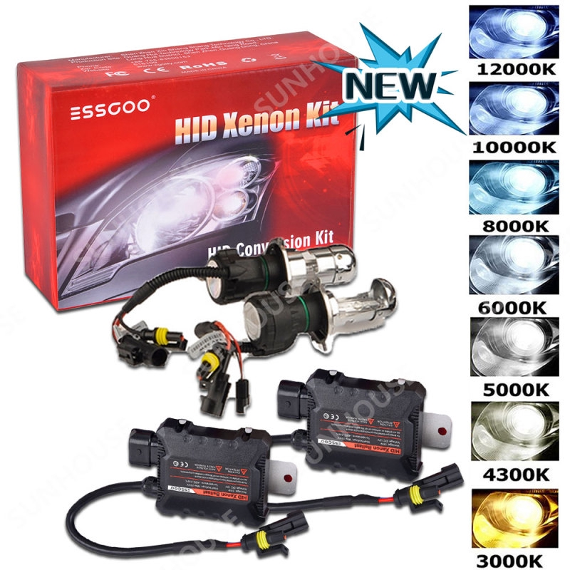 Ultra h7 xenon 6000 6000K Voiture HID Xenon Kit de conversion