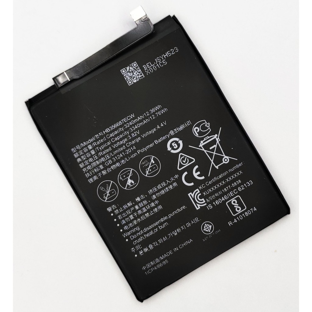 แบตเตอรี่ Huawei Nova 3i/Nova 2i รับประกัน 3 เดือน แบต Nova 3i/Nova 2i
