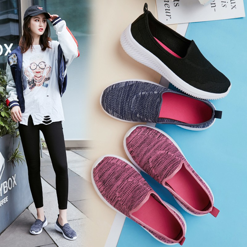 🔥🌸💋skechers go walk รองเท้า เพื่อสุขภาพ size 35~41 รองเท้าคัชชู ผู้หญิง รองเท้า ไซส์ใหญ่ Women casual slip-ons