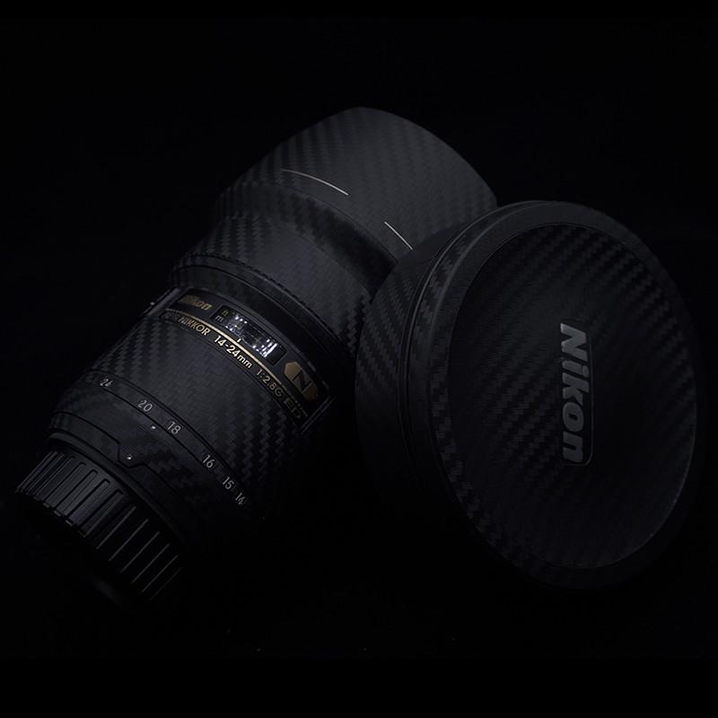 สติ๊กเกอร์ติดเลนส์กล้อง Nikon Slr 24-70 2 . 8 G สีขาว
