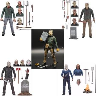 Review ตุ๊กตาฟิกเกอร์ NECA Horror Friday The 13 th Part 2 Jason Voorhees