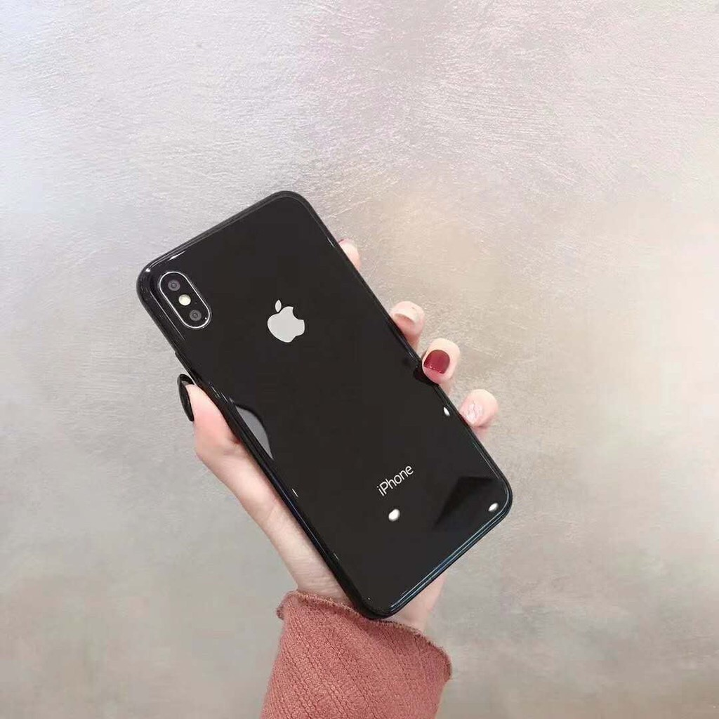 Image # 5 of Review เคสเอฟเฟคเเก้ว สีสันสดใส สำหรับ  iPhone 11 pro max i11 6 6 S 7 8 Plus X XR XS Max phone Case