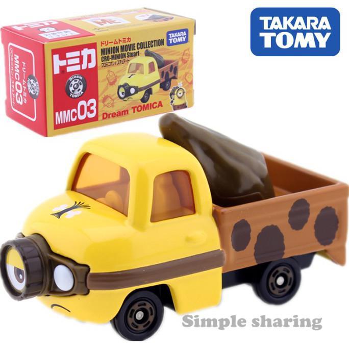 ของเล่นของสะสม Tomica Takara Tomy Minions Mmc03 Cro-minion