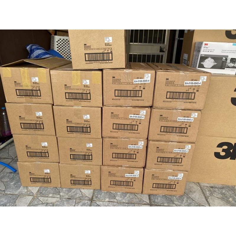 หน้ากาก 3M N95 8210 (ไม่มีวาล์ว) และ 8210v (มีวาล์ว) แบบยกลัง ของแท้ นำเข้าจาก 3M สิงคโปร์ และเกาหลี