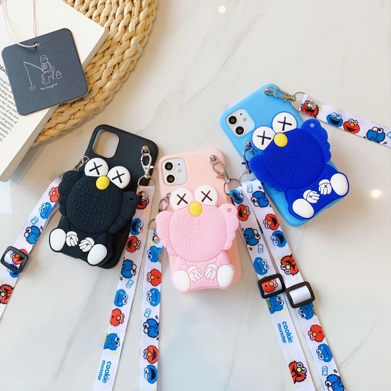Cartoon Sesame Street for Samsung A750 A72018 A9pro A8S A510 A520 A52018 A62018 A6plus J82018 A92018 A2core A10E A20E Soft Phone Case
