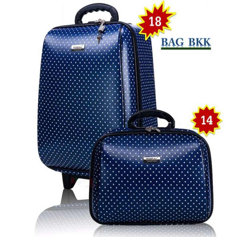 BAG BKK กระเป๋าเดินทาง Wheal ล้อลาก เซ็ทคู่ 18 นิ้ว/14 นิ้ว รุ่น F7719 -18