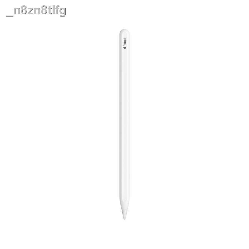 ipedApple Pencil ของแท้ของธนาคารแห่งชาติรุ่นที่สอง iPad Pro เขียนด้วยลายมือไวต่อแรงกดสัมผัส 2 ปากกา capacitive