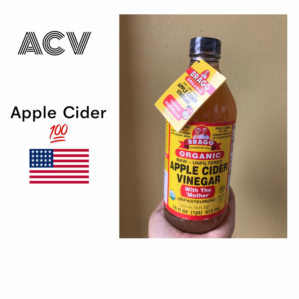 แบรกก์ Bragg ACV Apple Cider คีโตเจนิค 🇺🇸