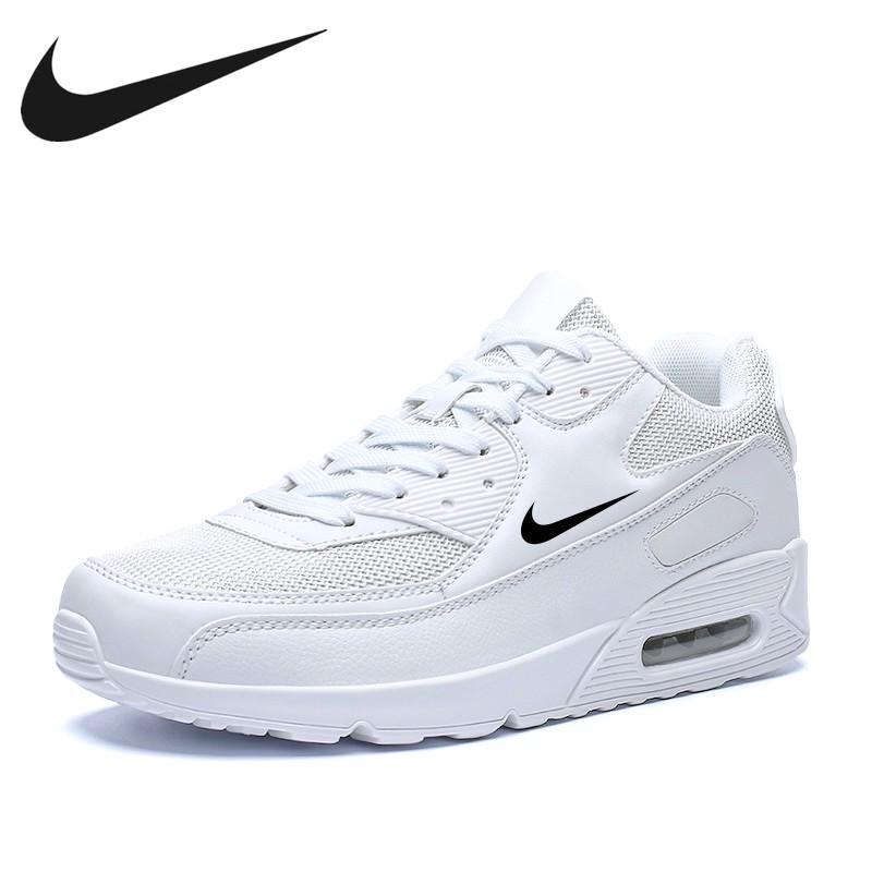 ต้นฉบับ 2021 New Nike Sports Max90 Couple Style Fashion Air Cushion Casual Large Size Men's Jogging Shoes Popular Sports
