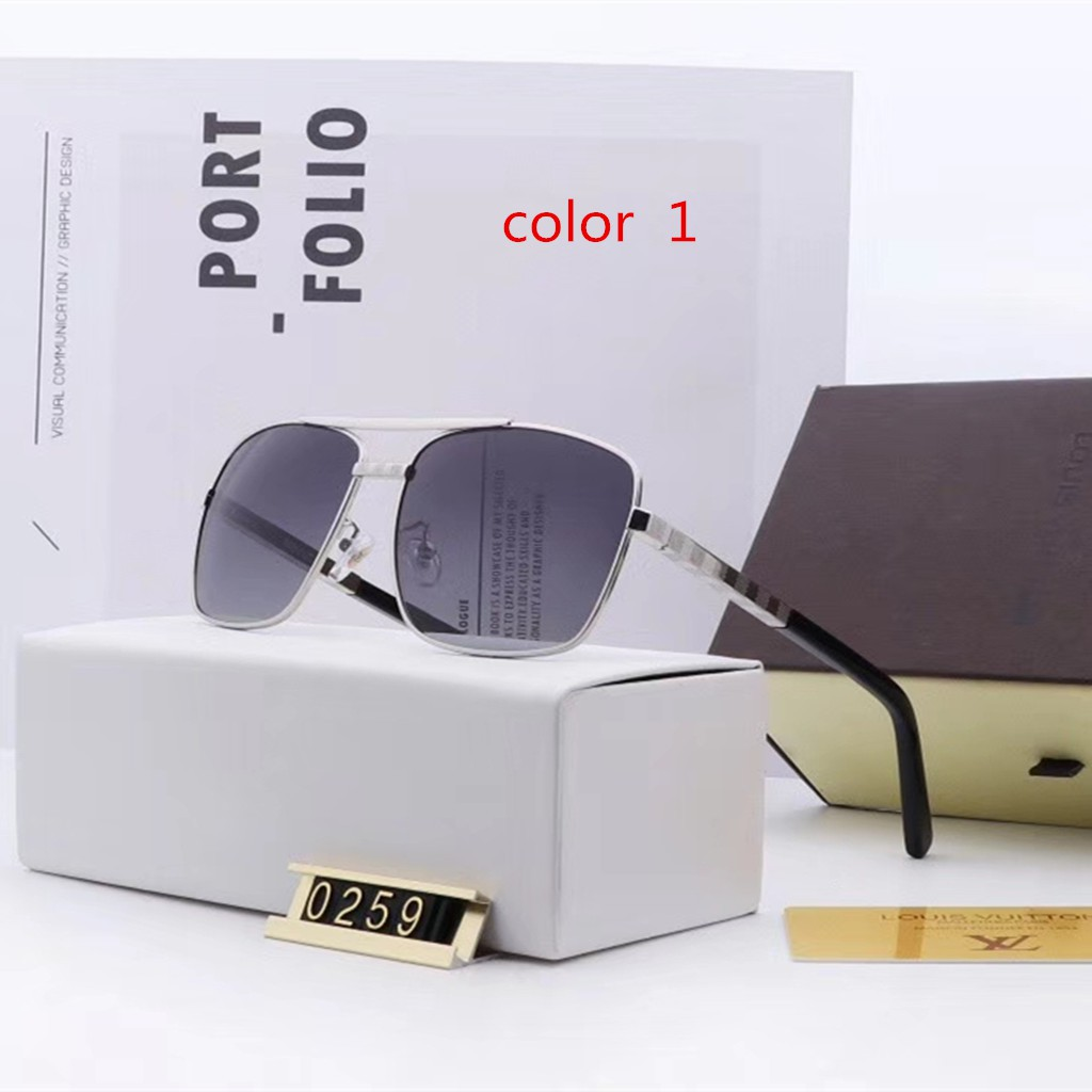 LOUIS VUITTON new 2019 fashion driving polarized sunglasses for men and women LV