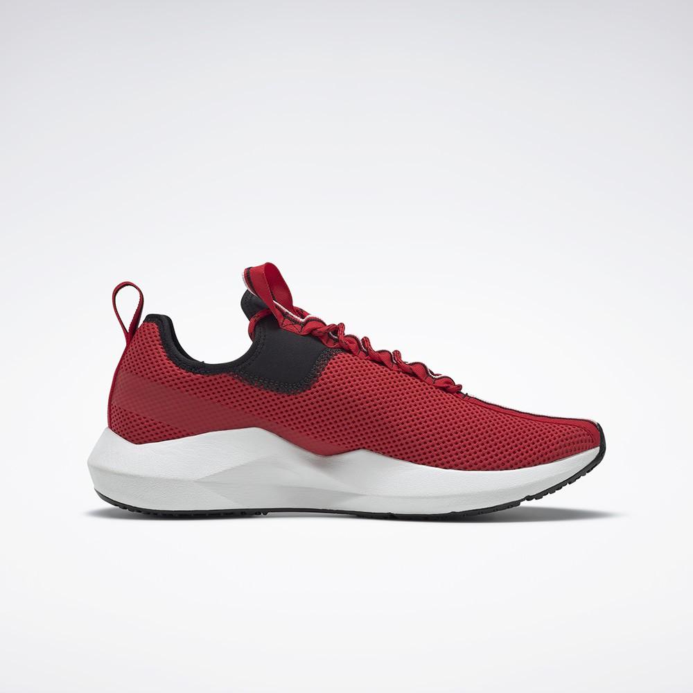 REEBOK : รองเท้ากีฬา UNISEX รุ่น SOLE FURY สี black/vector red/white