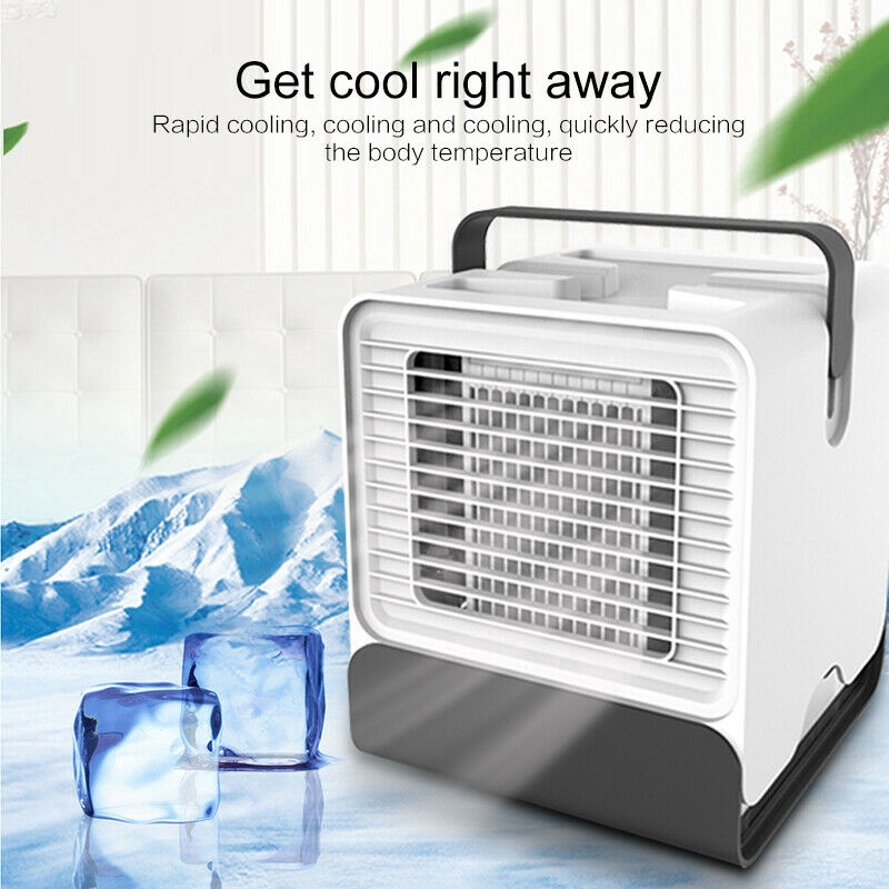 Computer & Office Portable Mini Pocket Fan Cool Air Hand Held Battery Travel Holiday Blower Cooler Aesthetic Appearance Usb Gadgets