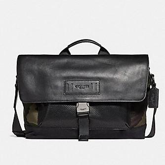 กระเป๋าเสื้อผ้า กระเป๋าถือ Coach แท้💯 (พร้อมส่ง) ส่งฟรี Coach Teerain Bike Bag F29024
