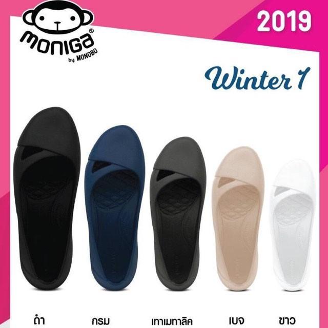 MONOBO 2019 Moniga Winter1 รองเท้าคัชชูผู้หญิง รองเท้าคัชชูยาง รองเท้าใส่ทำงาน
