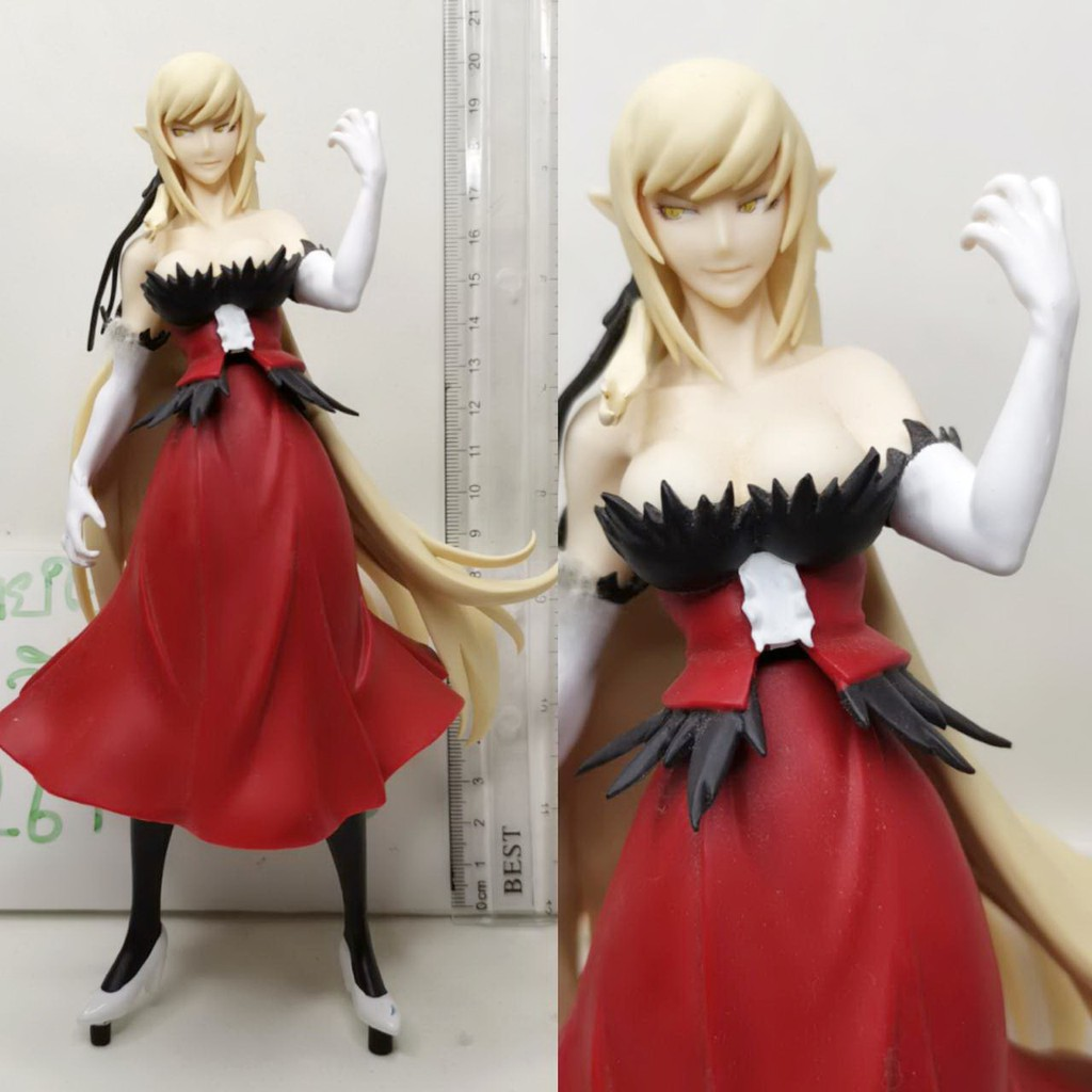 (แท้/มือสองไม่มีฐาน) KIZUMONOGATARI KISS SHOT SQ FIGURE SHINOBU OSHINO BANPRESTO JAPAN ANIME GIRL