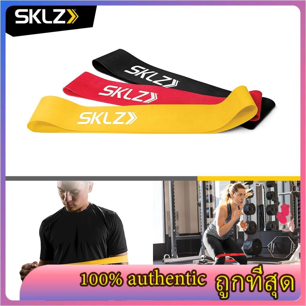 SKLZ - Mini Bands ยางยืดออกกำลังกาย เซ็ต 3 น้ำหนัก สายแรงต้าน