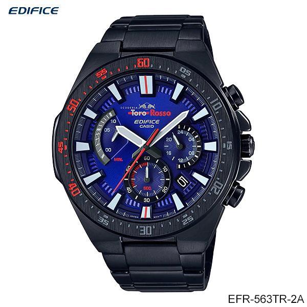 Casio Edifice นาฬิกาข้อมือผู้ชาย สายสแตนเลส รุ่น EFR-563TR-2A Scuderia Toro Rosso Limited Edition