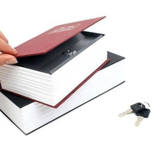 ✔ถูกที่สุด Security Book Safe Book ตู้เซฟหนังสือ หนังสือหลอก สำหรับเก็บของ ซ่อนของ