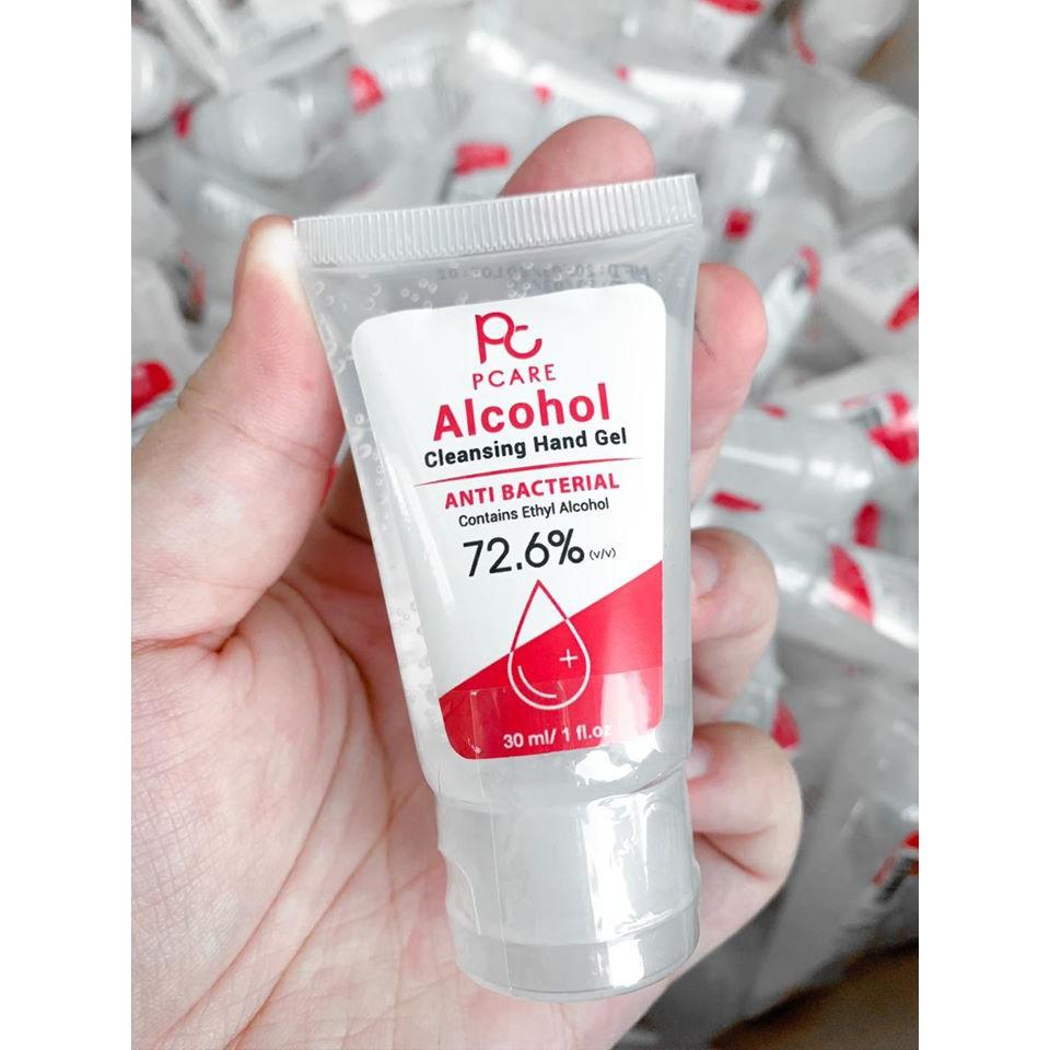 พกไว้อุ่นใจกว่า เจลล้างมือ 30 lm.สำหรับเด็กๆและผู้ใหญ่ มีแอลกอฮอ72.6% หอมแป้งเด็ก
