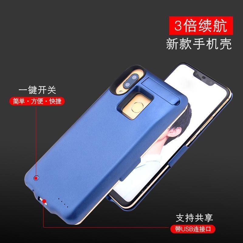 ❦✈₪เหมาะสำหรับ Huawei nova3i แบตสำรองแบบคลิปหนีบหลัง NOVA3 เคสใส่โทรศัพท์มือถือที่ชาร์จแบบไร้สายเฉพาะของ NOVA3