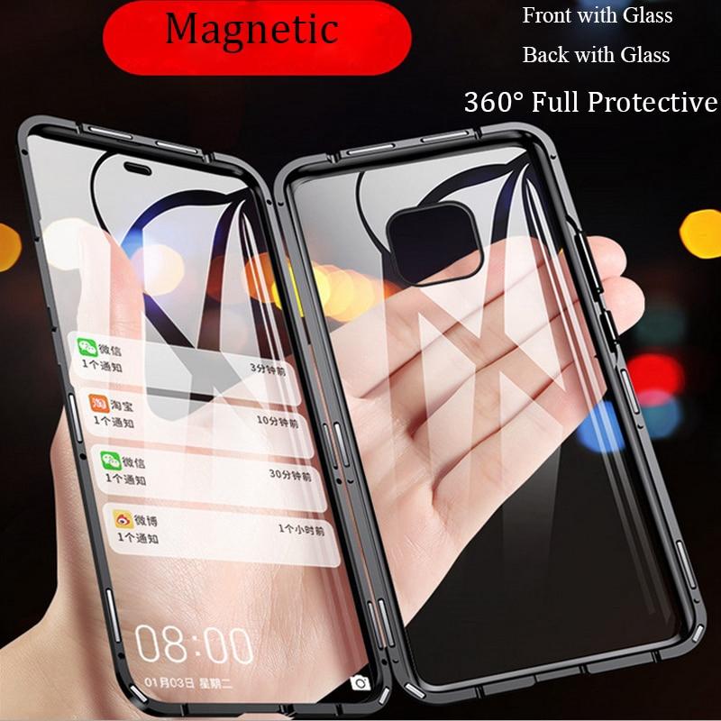 เคสโทรศัพท์มือถือแบบสองด้านสําหรับ Huawei Mate 20 Pro P 20 Pro