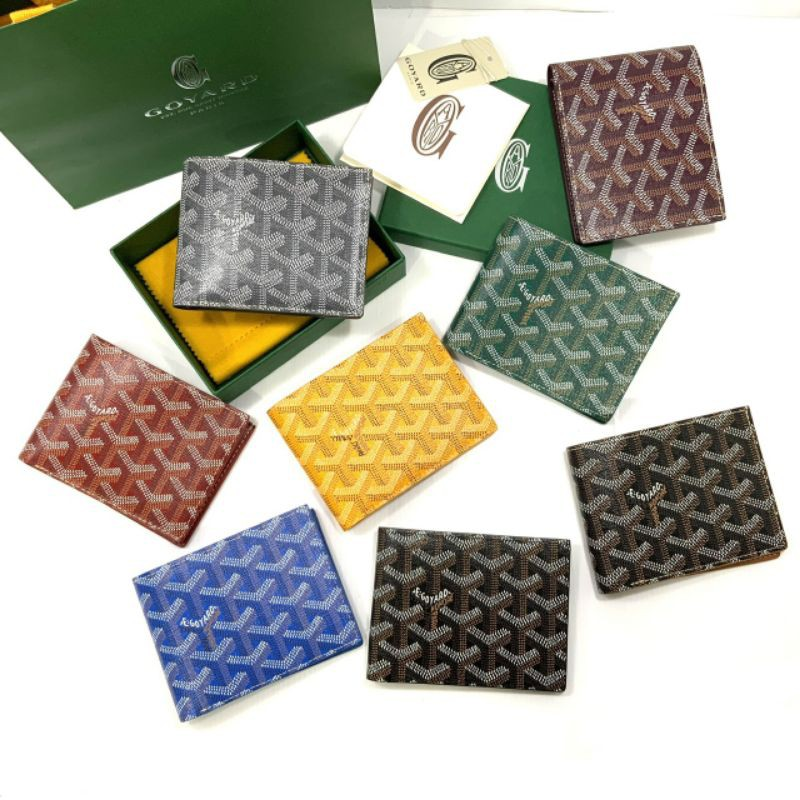 New Goyard 8 Cards Wallet