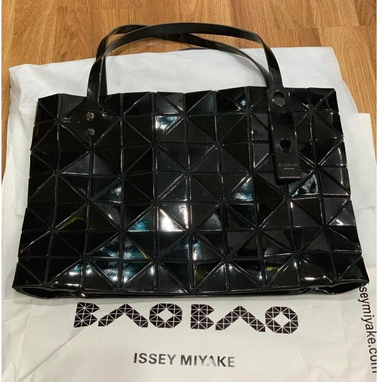 (มือสอง) กระเป๋า Bao Bao Issey Miyake Rock Small สีดำ ราคาถูก แท้ 100%