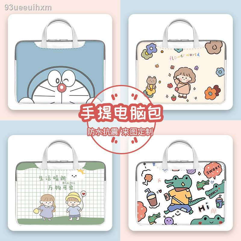 ราคาถูก✧▬┅กระเป๋าเดินทางกระเป๋าแล็ปท็อปหญิงสำหรับ14นิ้วLenovo Xiaoxin Pro13น่ารักกระเป๋าไลเนอร์Huawei Honor 16นิ้วApple