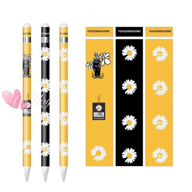 ❤️ สามในหนึ่งเดียว รูปแบบใหม่  สติ๊กเกอร์ Apple Pencil Case Stickers ลายน่ารักๆ ลาย แบ๊วๆ ยูนิคอร์น หัวใจ สีชมพู